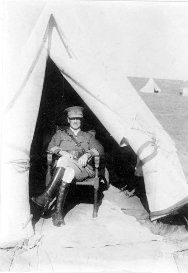 פטרסון בארץ, 1917
