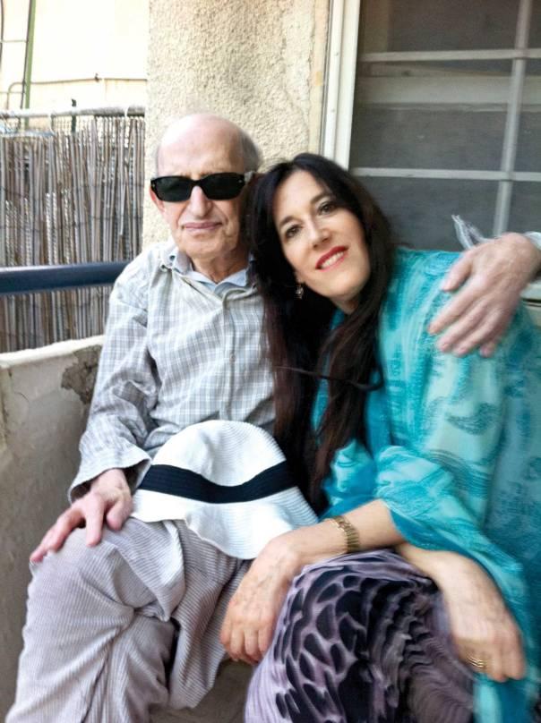עם הבת צרויה התצלומים באדיבות המשפחה