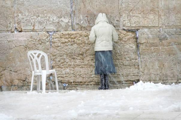 הכותל המערבי, ינואר 2008 צילום: מיכל פתאל