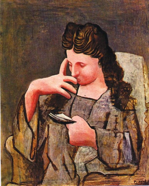ג. פבלו פיקאסו, אולגה, 1920