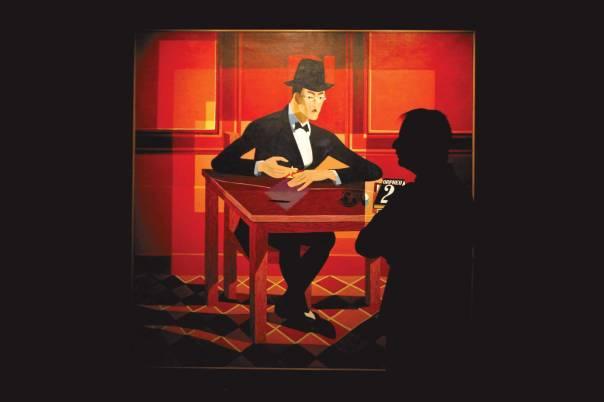 בתוך האיש הצנוע התקיימה גלקסיה כבירה של נפשות ורעיונות. תערוכה המוקדשת לפסואה, פורטוגל, 2012 צילום: אי.פי.אי