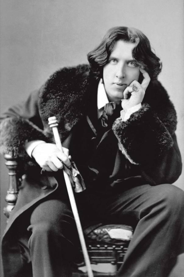 היה מסור באמת רק לאהבתו הגדולה ביותר – האמנות. אוסקר ויילד, 1882 צילום: נפוליאון סרוני