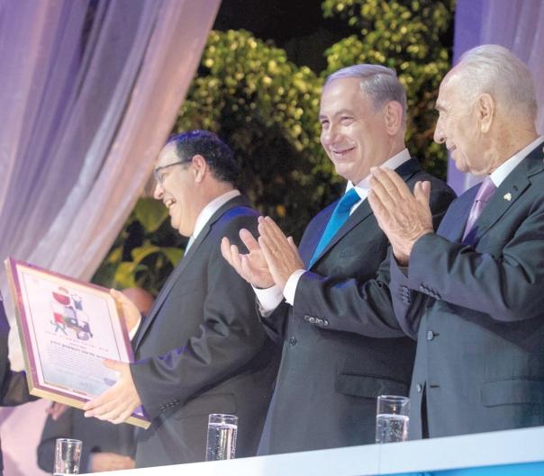 """האם ניתן לקיים תוכנית """"ריאליטי"""" סביב סמלים? טקס הענקת פרס ישראל, 2014צילום: אוהד צויגנברג"""