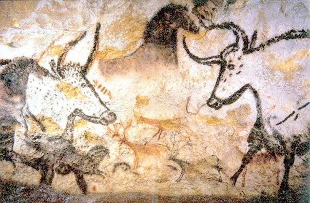 שור הבר במערת לאסקו, חבל דורדון, צרפת