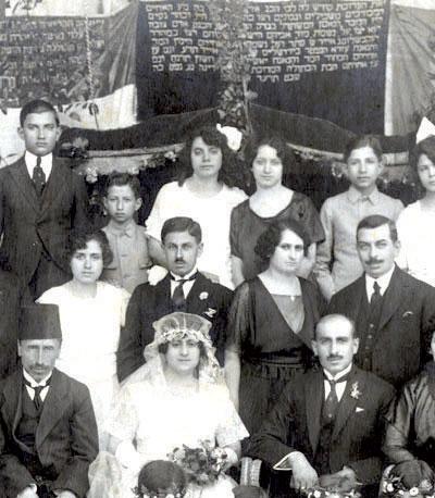 העברית נהגית יותר טוב מאשר בפלסטין. חתונה יהודית בסוריה, 1914