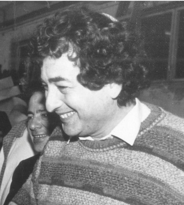 חיים באר, 1988 צילום: דניאל מורדז'ינסקי - ישראל סאן