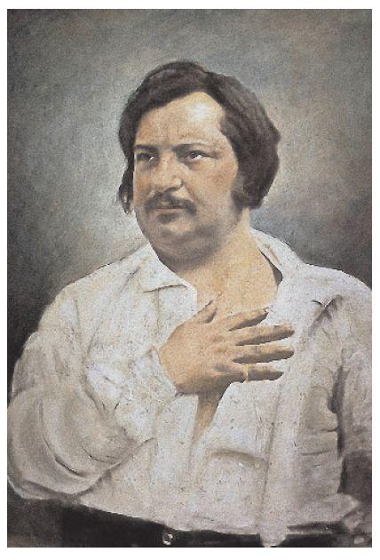דמיון סוער, טמפרמנט לוהט וכתיבה כריזמטית. אונורה דה בלזק בציור של לואי אוגוסט־ביסון מ־1842