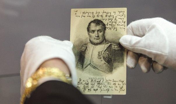 רומן שלם על מכתב גלוי לעיתון. מכתב ששלח תומס מאן לאחיו היינריך צילום: אי.פי.אי