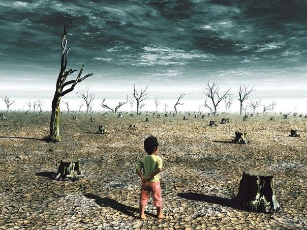 הבצורת קילפה מבני האדם כל אפשרות לאנושיות צילום אילוסטרציה: שאטרסטוקֿ