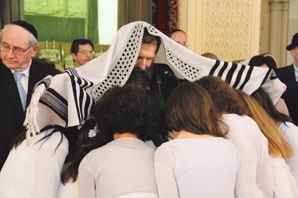 הרב אליהו בירנבוים בטקס בת מצוה בטורינו, 2012