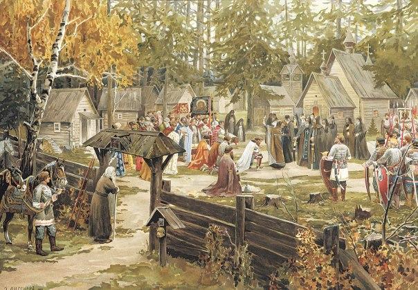 """""""אילו בישרתם לאנשי ימי הביניים שבעת החדשה אלוהים יגסוס וימות, הם היו ודאי מזדעזעים"""". ברכת הכנסיה, ארנסט ליסנר  , 1907"""