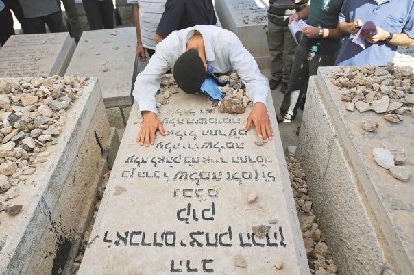 חווייתו הקיומית הייתה של אדם שנפשו קרועה. קבר הרב קוק בהר הזיתים צילום: אורן נחשון, פלאש 90