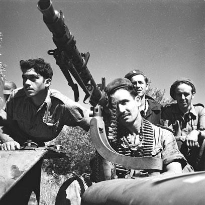 נהנו מיתרון הן בכוח אדם והן בתחמושת על צבאות ערב. חיילי צה
