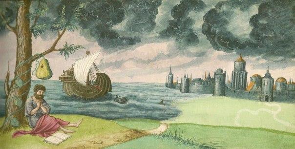 """הקב""""ה צריך אותנו. יונה תחת עץ הקיקיון, , 1552"""