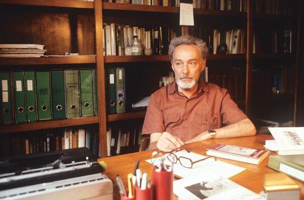דיוק, חיסכון, קפדנות בפרטים. פרימו לוי, טורינו, 1981 צילום: גטי אימג'ס