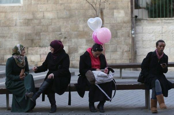 האם היהדות התאקלמה למצב החדש? ירושלים, 2014 צילום: נתי שוחט, פלאש 90