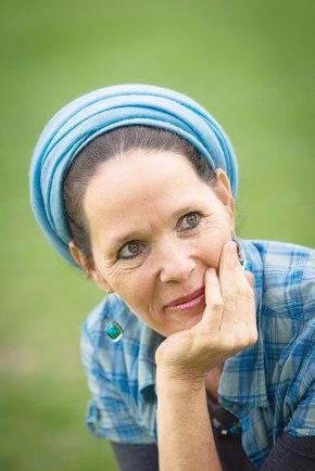 רחלי פרנקל–שפרכר: הקמנו את התוכנית כי הרגשנו שזה מצחיק שנהיה מסוגלות לענות על תשובות בהלכות נידה ולא בשום נושא אחר. מה שמעניין אותנו הוא הרצון להשלים את ההשכלה ההלכתית שלנו צילום: מרים אלסטר, פלאש 90