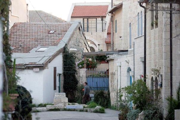 החצרות האחוריות של ירושלים נצבעות בבדידות צילום אילוסטרציה: יוסי זמיר, פלאש 90