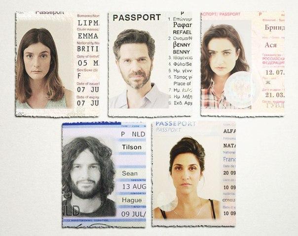"""מי מהם הוא באמת מי שהוא ומי בעל זהות כפולה? מתוך """"כפולים"""" צילום: יח""""צ קשת"""