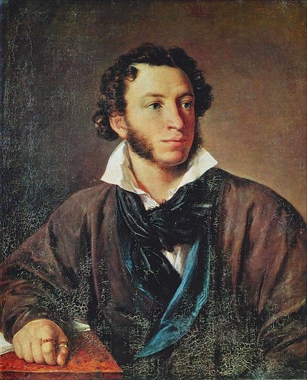 פושקין, בציור של וסילי טרופינין, 1827