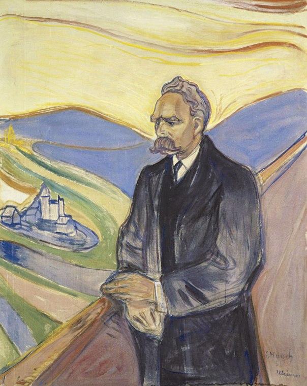 כתביו לא היו מתקבלים בשום כתב עת פילוסופי. פרידריך ניטשה בציור של אדוורד מונק, 1906