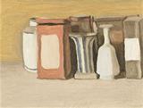 מחיה את היומיומי. ג'ורג'יו מורנדי, טבע דומם, 1946