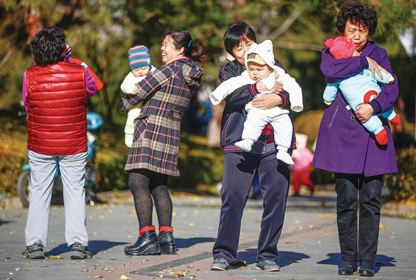 """תיאורים קשים מנשוא בנוגע ל""""מדיניות הילד האחד"""". סין, 2013 צילום: אי.פי.אי"""