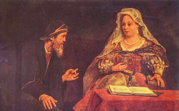 זוג נשוי. מרדכי ואסתר, ארט דה חלדר, 1685