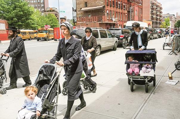 יש מנהיגוּת דתית נשית, ללא טייטל. ברוקלין, 2012 צילום: גטי אימג'ס
