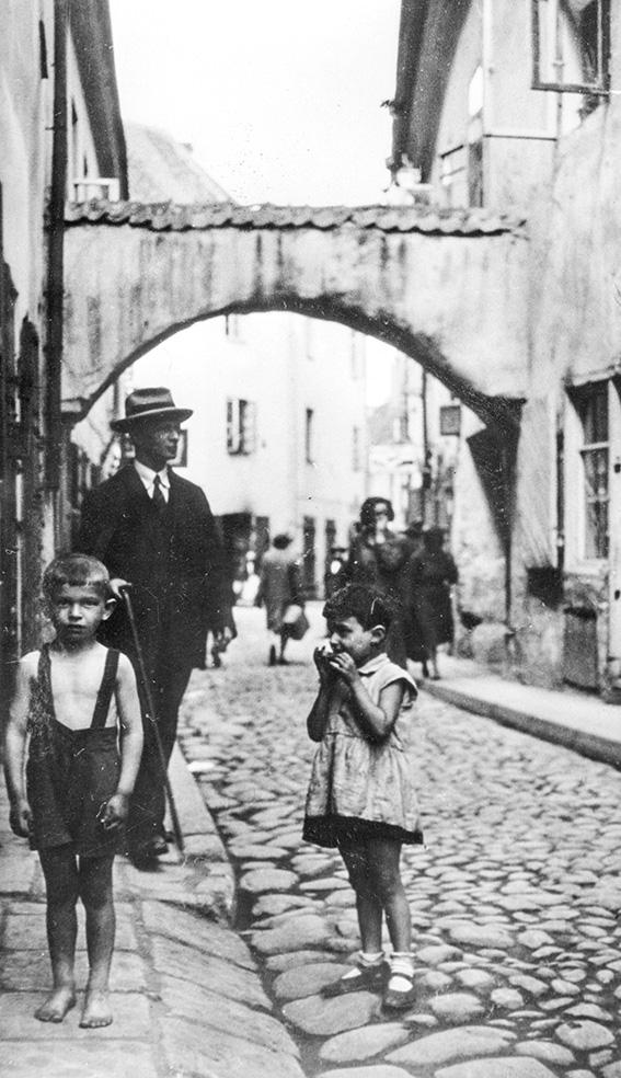 רוח היצירה פיעמה בגטו. גטו וילנה בזמן המלחמה צילום: גטי אימג'ס