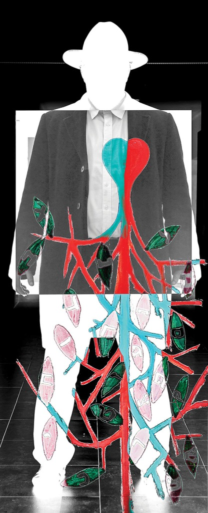 """הגוף לא משקר. ראובן צוקרמן, הלב, 2012. מתוך התערוכה """"אשרינו"""" המוצגת במוזיאון היכל שלמה, ירושלים"""