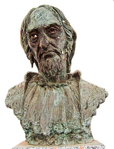 פסל ר' משה די ליאון בעיר גוודלחרה בספרד