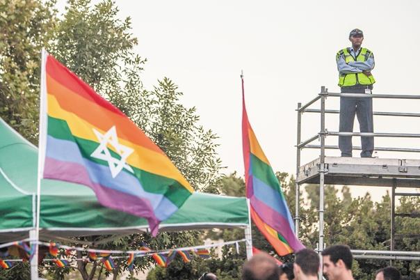 מדוע לא יתאפשר לדוגלים בתפיסה הישנה להשמיע את דבריהם? מצעד הגאווה בירושלים, 2016 צילום: Zack Wajsgras, פלאש 90