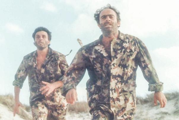 """סצנות טרגי–קומיות בין חיילים מצרים וישראלים במדבר סיני. מתוך """"אוונטי פופולו"""" צילום: יח""""צ"""