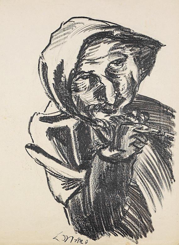בתמונה הקטנה: אלישע בן אבויה, רות קורח, 1920