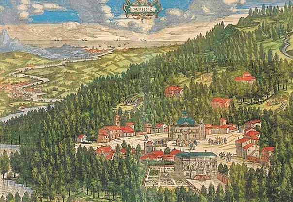 בחירה באורח חיים הלניסטי. אנטיוכיה בציור מהמאה ה–16