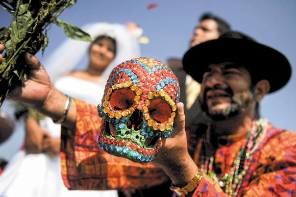 PERU-TRADITION-VALENTINE'S DAY-RITUAL