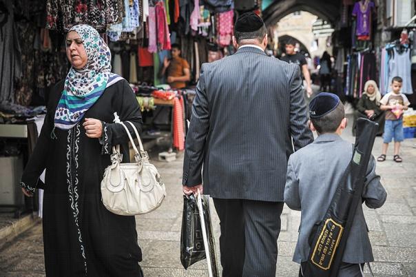 הזהויות הלאומיות גובות מחיר יקר מאוד. ירושלים 2014 צילום: הדס פרוש, פלאש 90