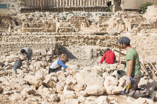 נדבך חשוב בהיסטוריה שלנו כעם ללא קשר לעמדה פוליטית. חפירות בעיר דוד צילום: יונתן זינדל, פלאש 90 