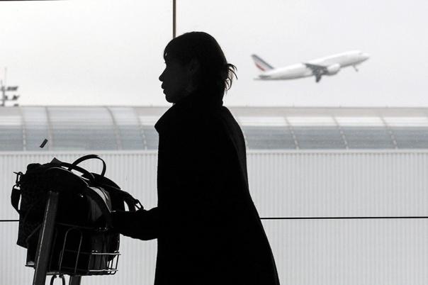 החטיפות הן רק ההתחלה. שדה התעופה שארל דה גול בפריז צילום: אי.פי.אי