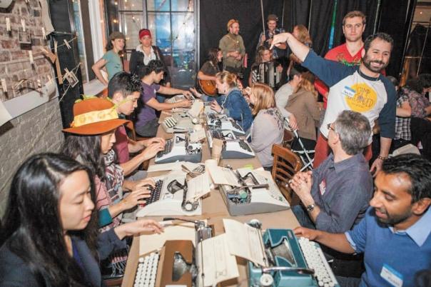 קוראים גם לשאינם יהודים להתנתק מאמצעים טכנולוגיים בזמן השבת. יום הניתוק הבינלאומי של חברת Rebbotא, 2015 צילום: באדיבות Rebbot