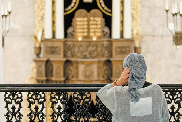 """הגברים במעשה עגנון סירבו לשיר ניגון שיש בו נעימה """"נשית"""". בית כנסת בירושלים צילום אילוסטרציה: הדס פרוש, פלאש 90"""