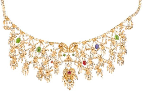 """היה מייצר את התכשיטים לנשות המלך וכלותיו. ענק """"ציפורים"""" שעיצב הרב אביץ', צנעא, שנות השלושים, אוסף מוזיאון ישראל, ירושלים"""