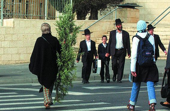 מדינת ישראל תמיד הכילה בתוכה אוכלוסייה לא יהודית. ירושלים, 2006 צילום: יוסי זמיר, פלאש 90