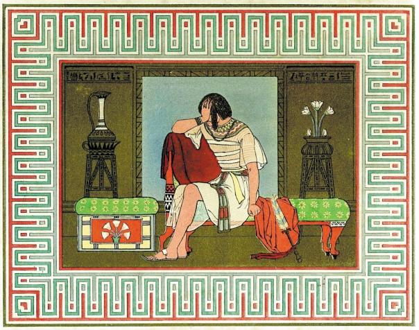 """כל זמן שאין שלום בינו לבין אחיו הוא אינו יכול לשוב הביתה. """"ויבך יוסף בדברם אליו"""", אוון ג'ונס, 1869"""